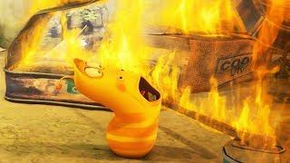 LARVA - FIRE   Cartoons For Children   Larva Full Movie   Larva Cartoon   LARVA Official