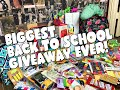 BIGGEST BACK TO SCHOOL GIVEAWAY EVER! 20...mp3