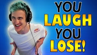 TRY NOT TO LAUGH CHALLENGE (FORTNITE EDITION) *IMPOSSIBLE*   Fortnite Highlights & Funny Moments #