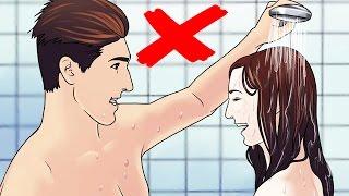 8 Dinge die du in der Dusche falsch machst 😱
