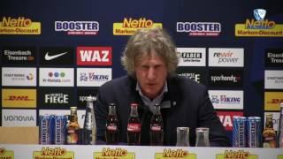 Pressekonferenz nach der Partie VfL Bochum 1848 - 1. FC Kaiserslautern