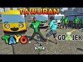 TAWURAN!! GOJEK VS SOPIR BUS TAYO - GTA ...mp3