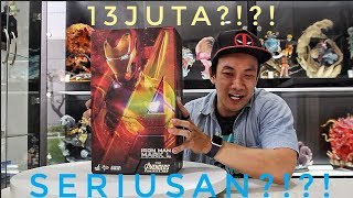 SPEECHLESS LOVE u 3000!!! UNBOXING HOTTOYS IRONMAN MARK 50 INFINITY WAR !!!!