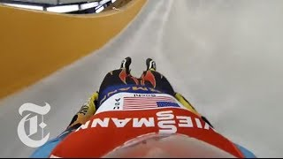 Sochi Olympics 2014 | Luge Racing: Going Uphill | The New York Times