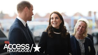 Pregnant Kate Middleton & Prince William Go Off-Roading In England