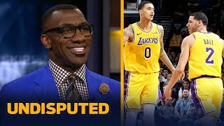 Shannon Sharpe sees major growth in Lakers