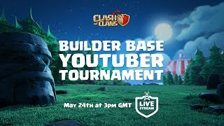 Clash of Clans - Builder Base Tournament! (Update stream)