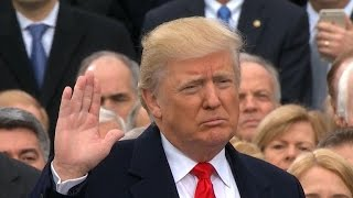 Did Trump further divide the country with his inaugural address?