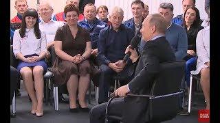 Putin: I Fall Asleep While Watching Oliver Stone