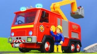 FEUERWEHRMANN SAM: Best of Feuerwehrmann Sam Rettungsaktionen für Kinder | Feuerwehrmann Neue Folgen