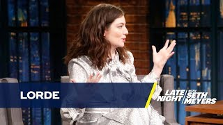Lorde Gives a Muggle-Friendly Explanation of Her Musical Synesthesia
