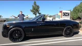 The Rolls-Royce Phantom Drophead Coupe Is an Ultra-Luxury Convertible