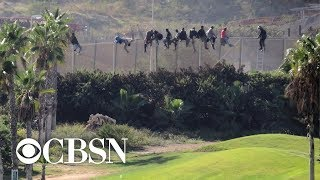 How a border wall works in Melilla, Spain, a gateway between Europe and Africa