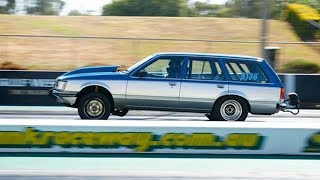 Commodore wagon takes 3rd at Drag Challenge Weekend