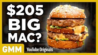 $205 Big Mac Taste Test   FANCY FAST FOOD