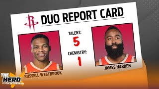 Colin Cowherd grades the Top 12 duos currently in the NBA & sorts them by tier   NBA   THE HERD
