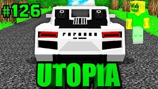 Ein 1.800.000€ PORSCHE 918?! - Minecraft Utopia #126 [Deutsch/HD]