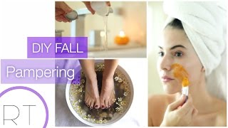 DIY Fall Pamper Session