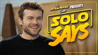 Solo: A Star Wars Story Cast Pronounces Star Wars Words and Names! | The Star Wars Show Extra