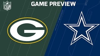 Packers vs. Cowboys | Randall Cobb vs. Ezekiel Elliott | NFL Divisional Round Previews
