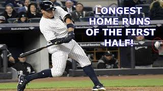 MLB | 20 LONGEST HOME RUNS OF THE FIRST HALF 2017 | 1080p HD