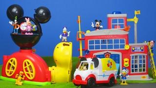 MICKY MAUS: Wunderhaus, Krankenwagen, Feuerwehrmann | Disney Mickey Mouse Wunderhaus deutsch