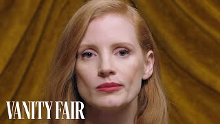 """Jessica Chastain Twitches Her Nose Like """"Bewitched""""   Secret Talent Theatre   Glamour"""