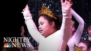Dancing Dreams, Where Recitals Are Possible For Children With Disabilities | NBC Nightly News