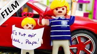 Playmobil Film deutsch | WER hat Papas Porsche kaputt gemacht? Porsche Unfall | Gibt Hannah es zu?