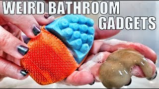 9 Weird Bathroom Gadgets Tested!