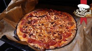 Pizza Italienne, pâte fine