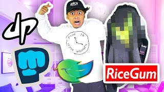 Buying The First Couple Things YouTuber Merch Suggested! (Deleted One Of Them)