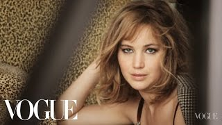 Behind the Scenes with Jennifer Lawrence on Her Cover Shoot