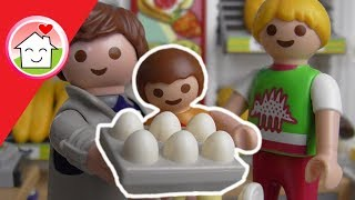 Playmobil Film deutsch Einkaufen mit Papa /  Kinderkanal Family Stories