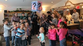 Cute TIEBREAKER Gender Reveal!