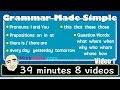 Grammar Made Simple | 8 Videos | English...mp3