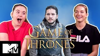 Game of Thrones Virgins Fail The Westeros Quiz | MTV