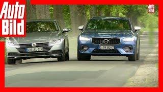 VW Arteon gegen Volvo S90 (2017) - Arteon im ersten Oberklasse-Duell