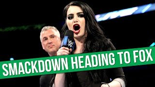 WWE SmackDown Live Heading To Fox On Fridays | Former Premier League Striker To Make Wrestling Debut