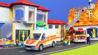 PLAYMOBIL Film deutsch: SCHULE, FAMILIE & FEUERWEHRMANN | Kinderfilme Kinderserie Serie für Kinder