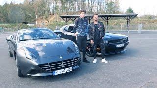 Mit Dner im Ferrari | Fibo bei Gymshark | inscopelifestyle