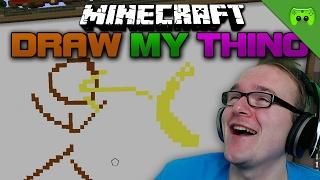 BUMERANG IN DIE FRESSE 🎮 Minecraft Draw my Thing #39