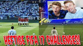 HEFTIGE FIFA 17 CHALLENGES vs. BRUDER! - DEMO GAMEPLAY (DEUTSCH)