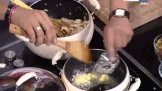 فراخ كاتشتورا - شوربة الفراخ بالمشروم - سلطة الكولد كت - الشيف علاء الشربيني - برنامج لقمة هنية