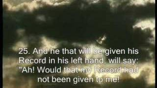 Made me cry-- Quran Recitation--Surat Al-Haqqah