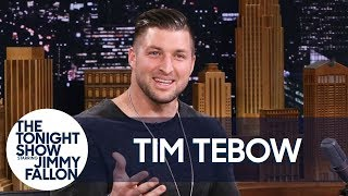"""Tim Tebow Discusses the Elaborate Way He Proposed and His """"Night To Shine"""" Program"""