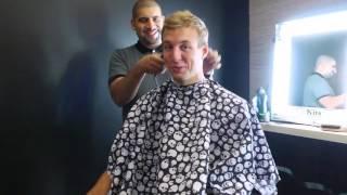 Luke Kennard Gets A Haircut In Preparation For The NBA Draft!