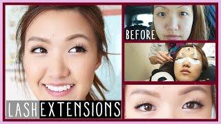 LASH EXTENSIONS 101 | FAQ | ilikeweylie