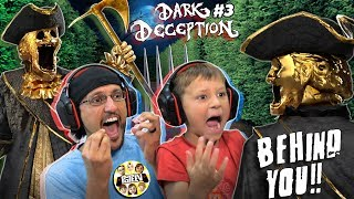 SCARY STATUES CHASING US! 🗽 RUN! 🏃‍♂️ (FGTeeV plays Dark Deception #3)