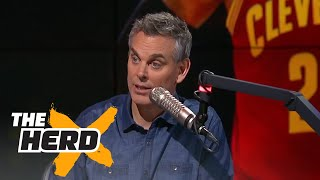 We have reshaped Jordan into this messiah while we chip away at LeBron | THE HERD